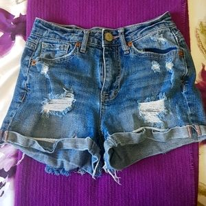 Aeropostal size 000 jean shorts